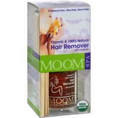 HGR0825653 - MoomOrganic Hair Removal Kit With Lavender SPA Formula - 1 Kit