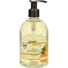 HGR0826271 - Pure and BasicNatural Liquid Hand Soap Grapefruit Verbena - 12.5 fl oz