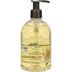 HGR0826313 - Pure and BasicNatural Liquid Hand Soap Green Tea and Aloe Vera - 12.5 fl oz