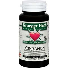 HGR0826495 - Kroeger HerbCinnamon Complete Concentrate - 90 Vegetarian Capsules