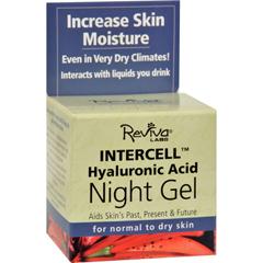 HGR0830760 - Reviva LabsInterCell Night Gel with Hyaluronic Acid - 1.25 oz