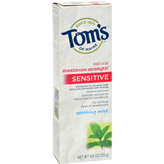 HGR0831842 - Tom's of MaineSensitive Toothpaste Soothing Mint - 4 oz - Case of 6
