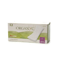 HGR0832527 - OrganycCotton Flat Panty Liners - 24 Pack