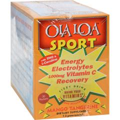 HGR0833178 - Ola Loa ProductsOla Loa Sport Mango Tangerine - 30 Packets