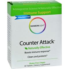 HGR0834655 - Rainbow LightCounter Attack - 30 Tablets