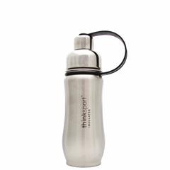 HGR0836866 - ThinksportStainless Steel Sports Bottle - Silver - 12 oz