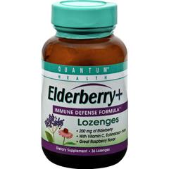 HGR0839282 - Quantum ResearchQuantum Elderberry Lozenges Raspberry - 36 Lozenges