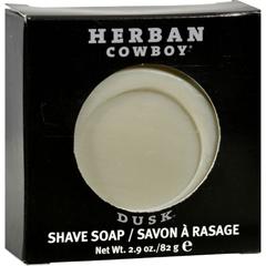 HGR0842070 - Herban CowboyNatural Grooming Shaving Soap Dusk - 2.9 oz