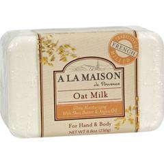 HGR0842617 - A La MaisonBar Soap Oat Milk - 8.8 oz