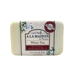 HGR0843011 - A La MaisonBar Soap White Tea - 8.8 oz