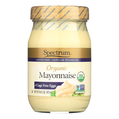 HGR0844589 - Spectrum Naturals - Organic Mayonnaise with Cage Free Eggs - 16 oz..