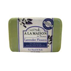 HGR0846071 - A La MaisonBar Soap Lavender Flowers - 8.8 oz