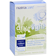 HGR0848770 - NatracareDry and Light Individually Wrapped Pads - 20 Pack