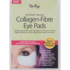 HGR0849141 - Reviva LabsCollagen Fiber Contoured Eye Pads - Case of 6 - 3 Sets