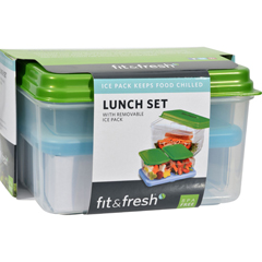 HGR0849158 - Fit and FreshLunch Set with Removable Ice Pack - 1 Container