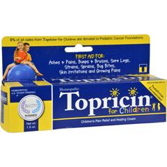 HGR0850446 - TopricinJunior Pain Relief Cream - 1.5 oz