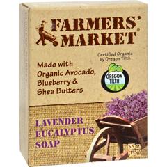 HGR0856104 - Farmer's MarketNatural Bar Soap Lavender Eucalyptus - 5.5 oz