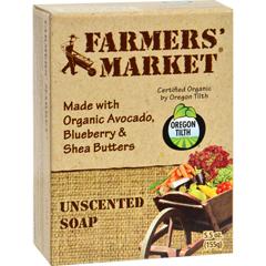 HGR0856153 - Farmer's MarketBar Soap Unscented - 5.5 oz