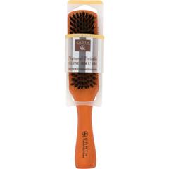 HGR0857011 - Earth TherapeuticsNatural Bristle Slim Brush - 1 Brush