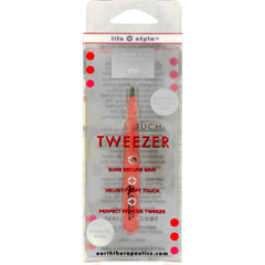 HGR0857292 - Earth TherapeuticsSoftouch Tweezer Pink - 1 Unit