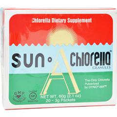 HGR0858860 - Sun ChlorellaA Granules - 20 Individually Wrapped Packs