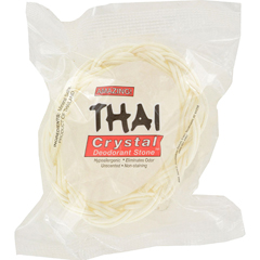 HGR0866269 - Thai Deodorant StoneThai Crystal Deodorant Soap in Basket - 1 Bar