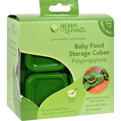 HGR0868356 - Green SproutsFood Storage Cubes - 8 Pack