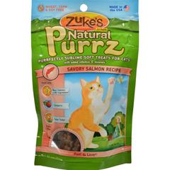 HGR0875419 - Zuke'sNatural Purrz Cat Treats Salmon - 3 oz