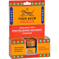 HGR0876557 - Tiger Balm - Extra Strength Pain Relieving Ointment - 0.63 oz - Case of 6