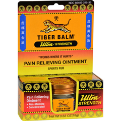 HGR0876615 - Tiger BalmPain Relief Ointment - 0.63 oz - Case of 6