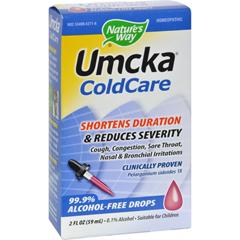 HGR0881888 - Nature's WayUmcka ColdCare Alcohol-Free Drops - 2 fl oz