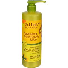 HGR0883173 - Alba BotanicaHawaiian Hand and Body Lotion Cocoa Butter - 24 fl oz