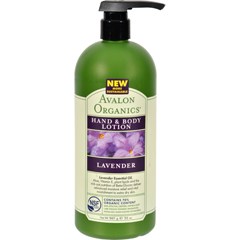 HGR0883397 - AvalonOrganics Hand and Body Lotion Lavender - 32 fl oz