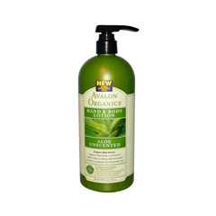HGR0883439 - AvalonOrganics Hand and Body Lotion Aloe Unscented - 32 fl oz
