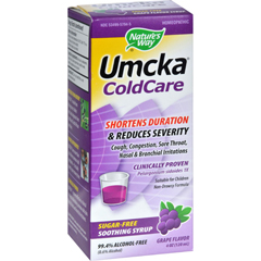 HGR0885558 - Nature's WayUmcka ColdCare Syrup Sugar-Free Grape - 4 fl oz