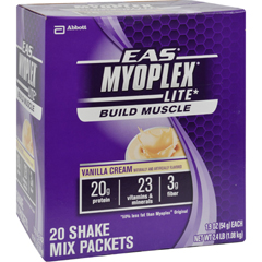 HGR0885780 - EASMyoplex Lite Nutrition Shake Vanilla Cream - 20 Packets