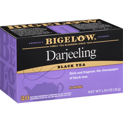 HGR0887422 - Bigelow - Darjeeling Black Tea - Case of 6 - 20 Bags