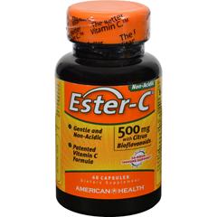HGR0888016 - American Health - Ester-C with Citrus Bioflavonoids - 500 mg - 60 Capsules