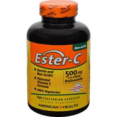 HGR0888131 - American HealthEster-C with Citrus Bioflavonoids - 500 mg - 240 Vegetarian Capsules