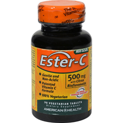 HGR0888271 - American HealthEster-C with Citrus Bioflavonoids - 500 mg - 90 Vegetarian Tablets