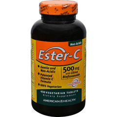 HGR0888313 - American HealthEster-C with Citrus Bioflavonoids - 500 mg - 450 Vegetarian Tablets