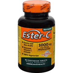 HGR0888453 - American HealthEster-C with Citrus Bioflavonoids - 1000 mg - 90 Vegetarian Tablets