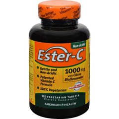 HGR0888495 - American Health - Ester-C with Citrus Bioflavonoids - 1000 mg - 120 Vegetarian Tablets
