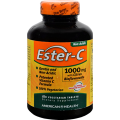 HGR0888511 - American HealthEster-C with Citrus Bioflavonoids - 1000 mg - 180 Vegetarian Tablets