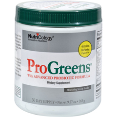 HGR0889147 - NutricologyNutriCology Pro Greens With Advanced Probiotic Formula - 9.27 oz