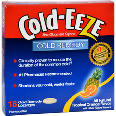 HGR0891408 - Cold-EEZECold Remedy Lozenges Tropical Orange - 18 Lozenges