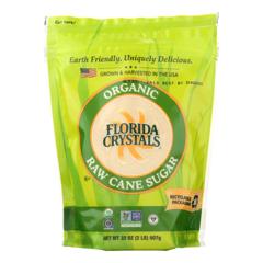 HGR0891598 - Florida Crystals - Organic Cane Sugar - Cane Sugar - Case of 6 - 2 lb.