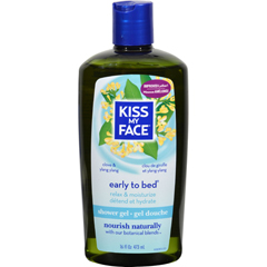 HGR0892711 - Kiss My FaceBath and Shower Gel Early to Bed Clove and Ylang Ylang - 16 fl oz