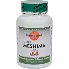 HGR0894113 - Mushroom WisdomSuper Mashima with Maitake D-fraction - 120 Vegetable Tablets