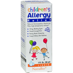 HGR0897199 - NatraBioChildrens Allergy Relief - 1 fl oz